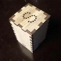 Солонка деревянная Сканди