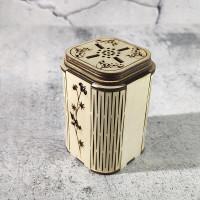 Солонка/перечница деревянная Миара