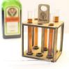 Шотница-подставка для подачи алкоголя Счастье в пробирке 6