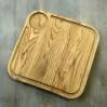 Доска Антей из дуба для подачи стейка