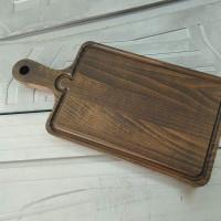 Сервировочная доска из массива дуба Бона