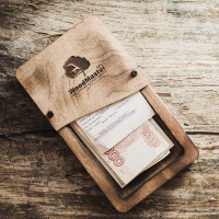 Коробка для счета Сантана М с декоративными винтами