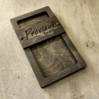 Коробка для счета Сантана 1МС c декоративными винтами на широкой плашке
