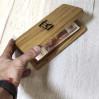 Деревянная шкатулка для счета Алексика из дуба