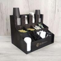 Органайзер Т4-М для бумажных стаканчиков в кофейне