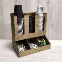 Органайзер для бумажных стаканчиков и кофе Икос 3