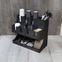 Накопитель Табо для одноразовых стаканов и крышек для кафе 12 ячеек