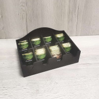 Коробка накопитель для чайных пакетиков Сарта 8 секций