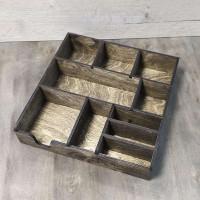 Деревянный органайзер для салфеток и мелочи Саек