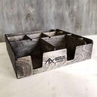 Накопитель для салфеток, чайных пакетиков и приборов Асмеда