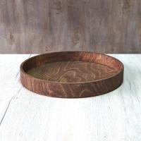 Круглый деревянный поднос Балима