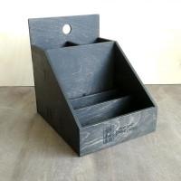 Деревянная подставка для столовых приборов Угора