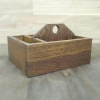 Деревянная подставка для салфеток и спецовников Виани Massiv из дуба