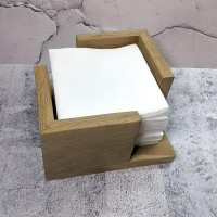 Подставка для салфеток Квадро Massiv из дуба