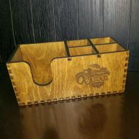 Барный органайзер из дерева Смарт